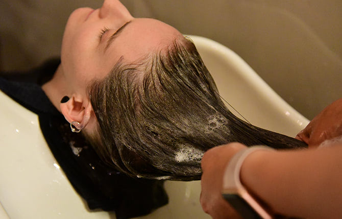 salon services hair